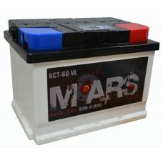 """АКБ  60Ач """"MARS"""" обратная полярность низкий"""