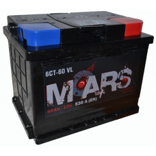 "АКБ  60Ач ""MARS"" обратная полярность"