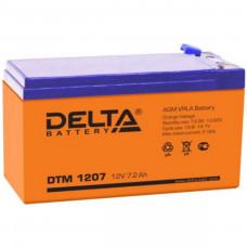 "АКБ  12V -  9 Ач ""Delta DTM"""