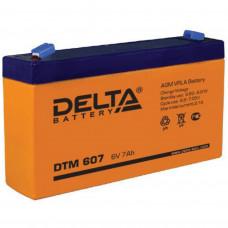 "АКБ   6V - 7 Ач ""Delta DTM"""