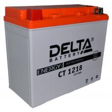 "АКБ 12V - 18 Ач ""Delta CT 1218"" (YTX20-BS, YTX20H, YB16-B-CX, YB16-B, YB18-A)"