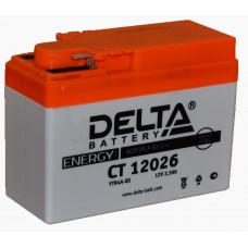 "АКБ 12V - 2,5 Ач ""Delta CT 12026"" (YTR4А-BS)"