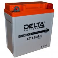 """АКБ 12V - 5 Ач """"Delta CT 1205.1"""" (YB5L-B, 12N5-3B)"""