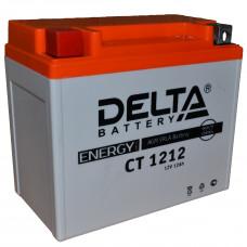 """АКБ 12V - 12 Ач """"Delta CT 1212"""" (YTX14-BS, YTX12-BS)"""