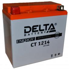 "АКБ 12V - 14 Ач ""Delta CT 1214"" (YTX16-BS, YB16B-A)"