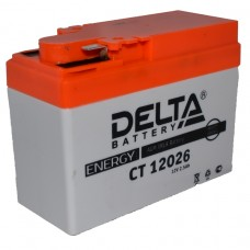 """АКБ  12V -  2,5 Ач """"Delta CT"""" (YTX4B-BS)"""