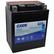 """АКБ 12V -13 А/ч """"EXIDE AGM"""" ETX14AH-BS"""