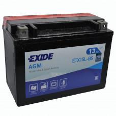 """АКБ 12V -13 А/ч """"EXIDE AGM"""" ETX15L-BS"""