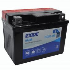 """АКБ 12V -4 А/ч """"EXIDE AGM"""" ETX4L-BS"""