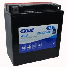 """АКБ 12V - 18 А/ч """"EXIDE AGM"""" (ETX20CH-BS)"""