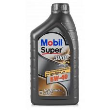 Масло моторное MOBIL Super 3000 X1 Diesel 5W40 синтетическое 1 л
