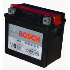 """АКБ  12V -  4 Ач """"BOSCH MOBA  AGM"""" (504 012 003 A504 FP)"""
