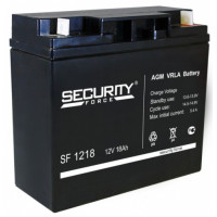 "АКБ  12V - 18 Ач ""Security Force"" (SF 1218)"