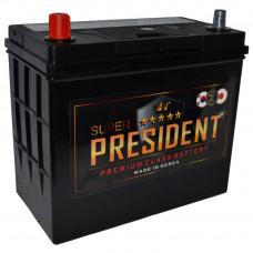"""АКБ  65 """"SUPER President"""" Asia прямая полярность"""