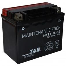 """АКБ 12V - 10 А/ч """"TAB moto MYTX12L-BS"""""""