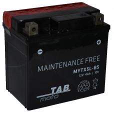 """АКБ 12V - 4 А/ч """"TAB moto MYTX5L-BS"""""""