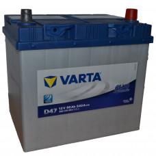 "АКБ  60 ""VARTA"" Blue Dynamic Asia обратная полярность"