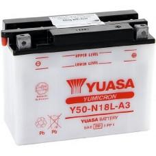 """АКБ  12V -20 А/ч """"Yuasa"""" Y50-N18L-A3"""