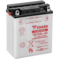 """АКБ  12V -12 А/ч """"Yuasa"""" YB12AL-A2"""