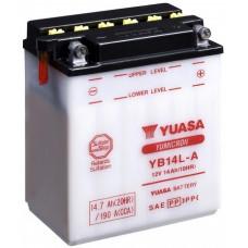 """АКБ  12V -14 А/ч """"Yuasa"""" YB14L-A"""