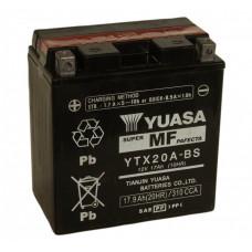 "АКБ  12V -17 А/ч ""Yuasa"" YTX20A-BS"