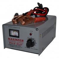 Зарядное устройство PLUS- 10AT MAXINTER (1А до 10А) (АКБ до 90А/ч) (трансф.)