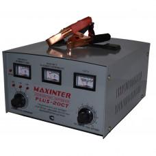 Зарядное устройство PLUS- 20СТ MAXINTER (1А до 30А) (АКБ до 215А/ч) (трансф.)
