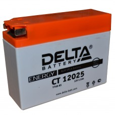 "АКБ  12V -  2,5 Ач ""Delta CT"" (YTR4А-BS)"