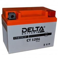 "АКБ 12V - 4 Ач ""Delta CT 1204"" (YB4L-B, YTX4L-BS)"