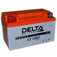 """АКБ  12V -  7 Ач """"Delta CT"""" (YTX7A-BS)"""