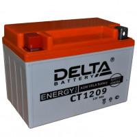 """АКБ 12V - 9 Ач """"Delta CT 1209"""" (YTX9-BS)"""