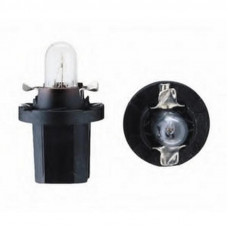 Лампа 12V 1.1 W МАЯК приборная панель с патроном ВХ8,4d  (61369)