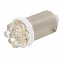 Лампа светодиод 12V Т10 (C5W) SKYWAY c цоколем 7 SMD диодов,белая,1-конт.