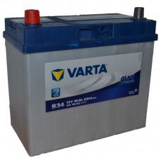 "АКБ  45 ""VARTA"" Blue Dynamic Asia прямая полярность (яп. клеммы)"