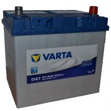"""АКБ  60 """"VARTA"""" Blue Dynamic обратная полярность (низкий)"""