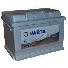 """АКБ  61 """"VARTA"""" Silver Dynamic обратная полярность (низкий)"""