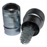 Щетка для зачистки контактов АКБ (метал/ф) АвтоDело (44640)