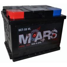 "АКБ  55Ач ""MARS"" прямая полярность"