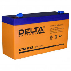 "АКБ   6V - 12 Ач ""Delta DTM"""