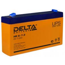 АКБ   6V -  7.2 Ач Delta HR