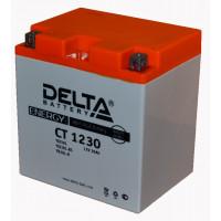"АКБ 12V - 30 Ач ""Delta CT 1230"" (YTX30L-BS, YIX30L-BS, YB30L-B)"