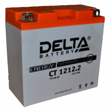 "АКБ 12V - 12 Ач ""Delta CT 1212.2"" (YT14B-BS)"