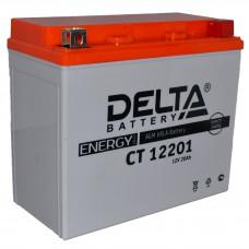 """АКБ 12V - 18 Ач """"Delta CT 12201"""" (YTX20L-BS)"""
