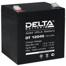 "АКБ   12V -  4,5 Ач ""Delta DT"""