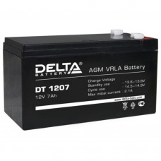 "АКБ  12V -  7 Ач ""Delta DT"""