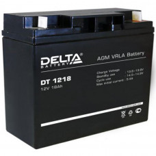 "АКБ  12V - 18 Ач ""Delta DT"""