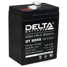 "АКБ   6V -  4,5 Ач ""Delta DT"""