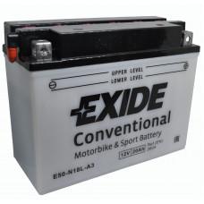 """АКБ 12V -20 А/ч """"EXIDE"""" E50-N18L-A3"""