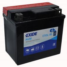 """АКБ 12V - 4 А/ч """"EXIDE AGM"""" (ETX5L-BS)"""