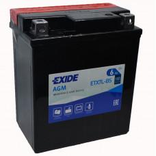 """АКБ 12V - 6 А/ч """"EXIDE AGM"""" (ETX7L-BS)"""